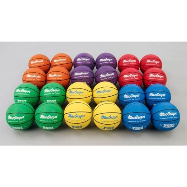 Basketball Skillastics and 24 Multi-Colored Sport Specific Exercise Games