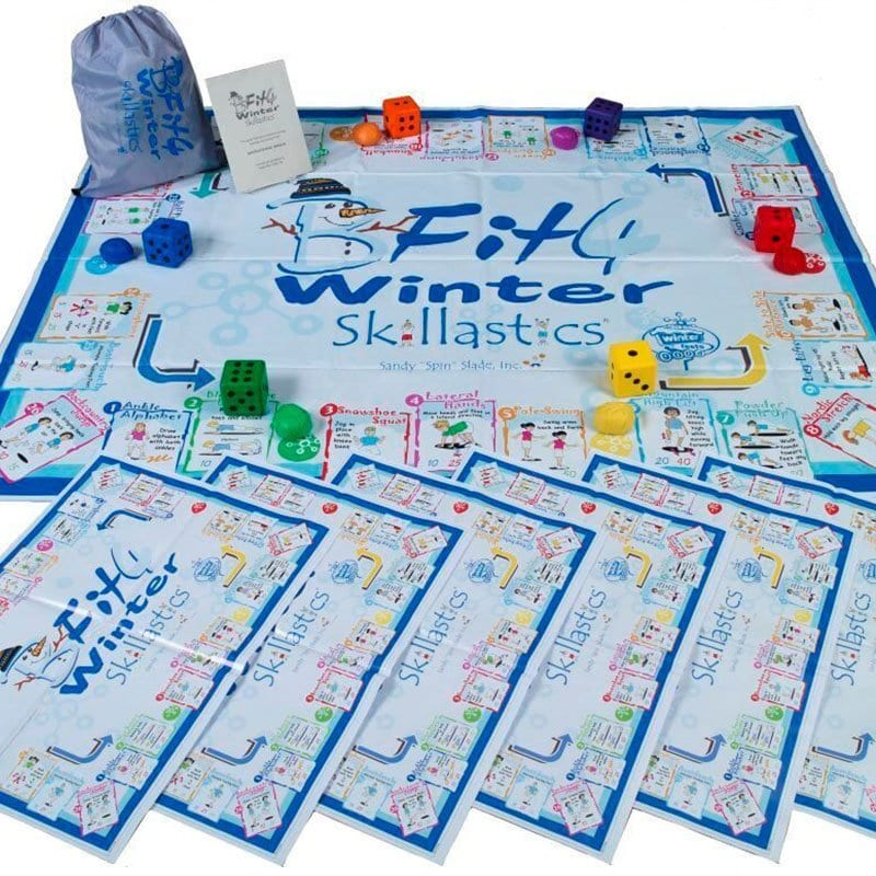 BeFit4 Winter Skillastics Exercise Games