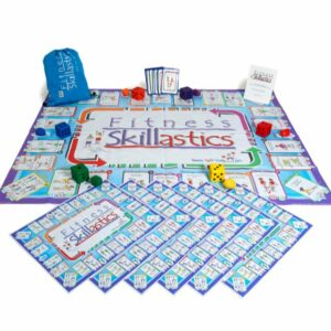 Fitness Skillastics and Elementary Nutritional Cards Maximum Participation