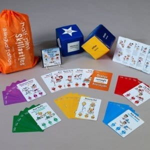 Halfpint Bilingual Skillastics Physical Activities for Toddlers