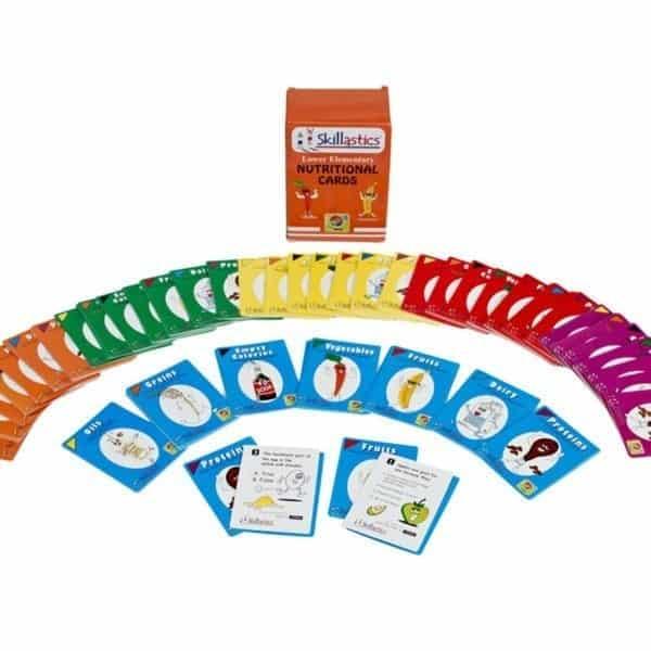 Skillastics Elementary Nutritional Cards Nutrition Literacy