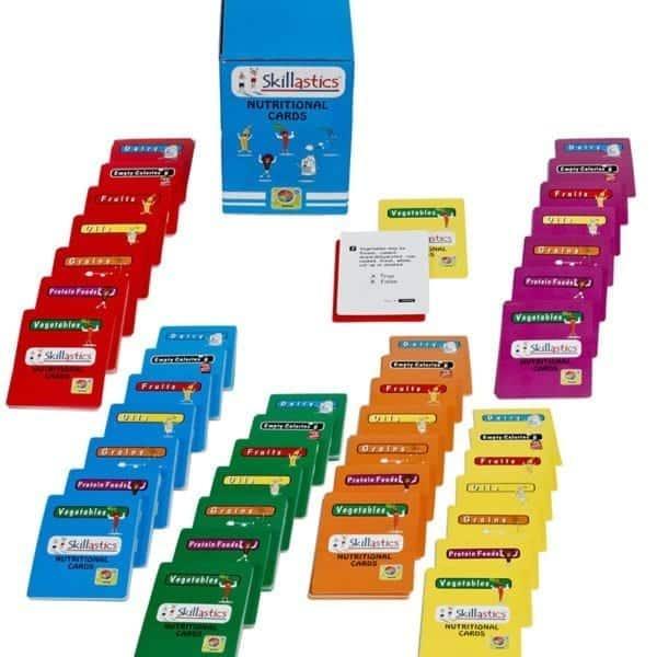 Skillastics Secondary Nutritional Cards Health Literacy