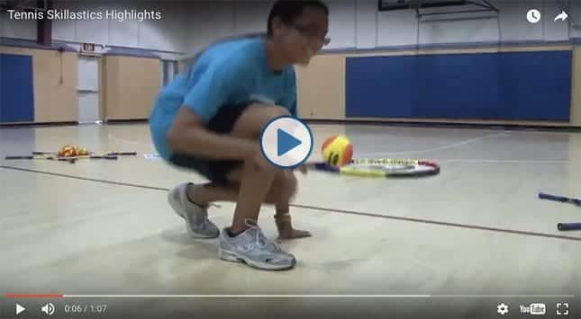 Tennis Skillastics® Highlight Video