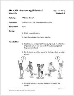 After School Fitness Skillastics® Lesson Plan Guide 1