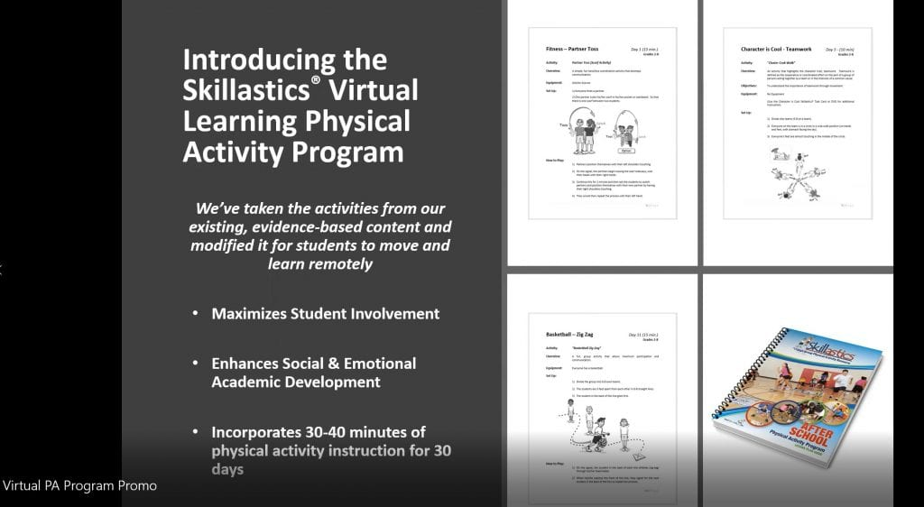 Virtual Physical Activity Program