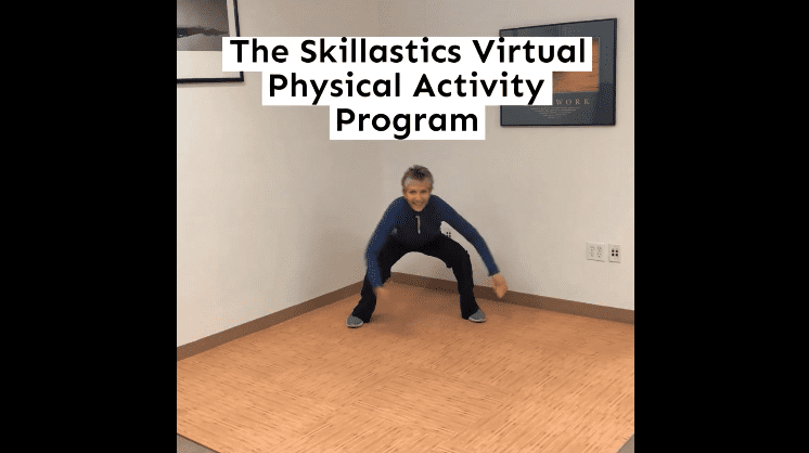 Skillastics Virtual Physical Activity Program Promo